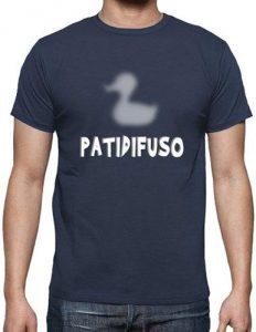 camiseta pato difuso
