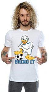 camiseta pato donald futbolista