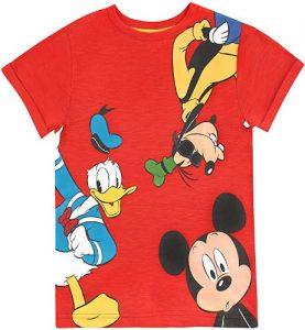 camiseta donald mickey goofy