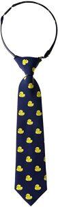 Corbata de patitos para niño