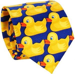 Corbata de patos