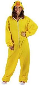 disfraz de pato amarillo adulto
