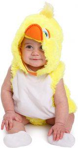 disfraz de patito amarillo bebe