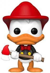 Funko Pop pato Donald bombero edición limitada