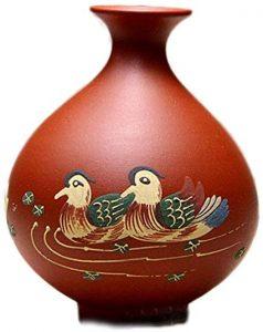 jarrón con patos Feng Shui