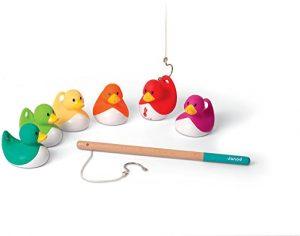 Juego de pesca de patos