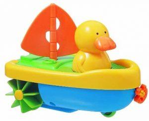 Juguete de bañera barco con pato