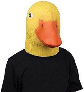 mascara de pato