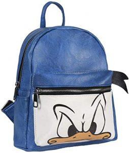 mochila pato donald azul