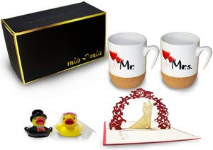 tazas de patos regalo de bodas