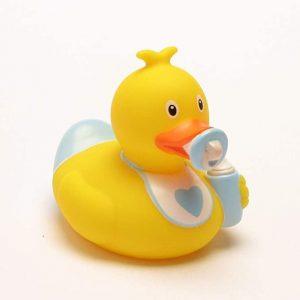 pato de goma bebé
