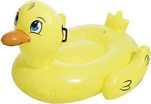 Pato hinchable para niño